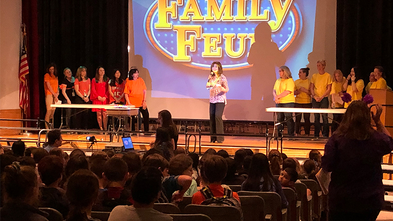 Faculty Feud Fundraises for Ride Again