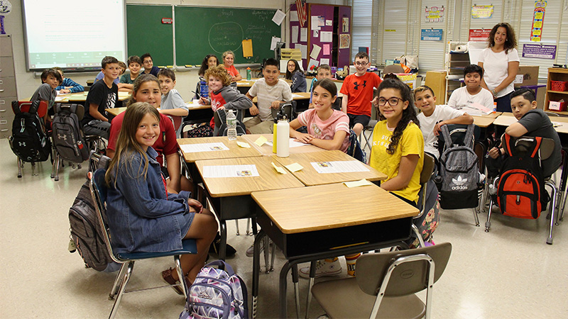 Students Bounce Back in the First Week of School
