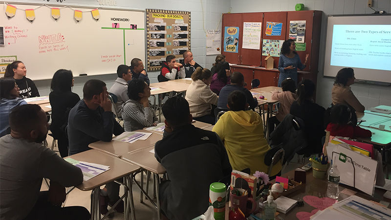 ENL PARENT ORIENTATION NIGHT