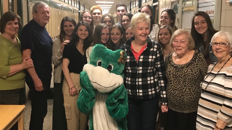Student Organization Hosts Senior Citizen Luncheon