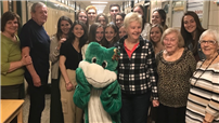 Student Organization Hosts Senior Citizen Luncheon photo